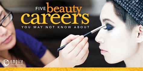 beauty schools directory blog beauty schools directory 5 promising beauty careers you may not know about