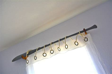 oar curtain rod oar curtain rod inside the home decor storage and ideas