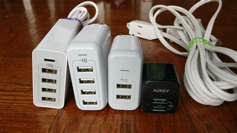 anker vs aukey wall charger buying guide anker wall desktop chargers product