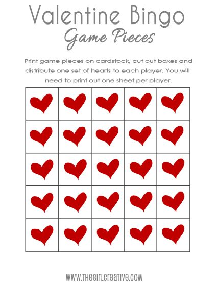 printable free valentine bingo free valentine s day bingo and treat toppers