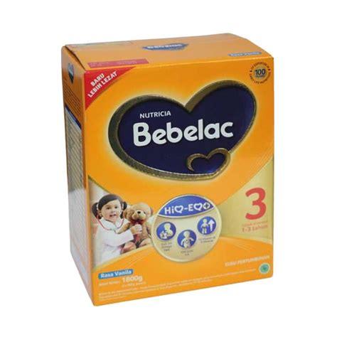 Bebelac 3 Vanila jual bebelac 3 vanilla formula 1800 g