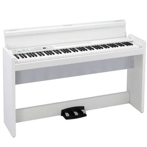 Korg Piano Digital Lp180 Wh White korg 88 key digital piano w stand speaker white