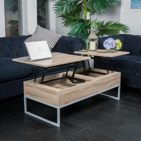 Lift Top Coffee Table With Storage Christopher Home Lift Top Wood Storage Brown Coffee Table