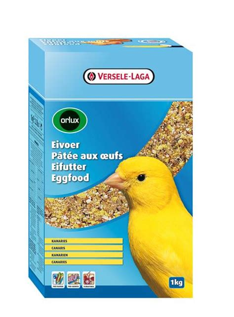 versele laga orlux canary egg food garden feathers