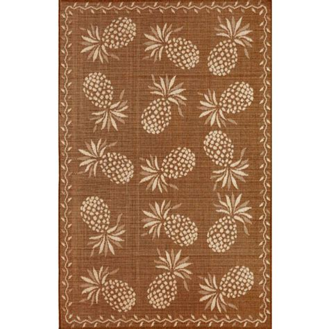 Pineapple Outdoor Rug with Pineapple Indoor Outdoor Rug 5 Different Colors