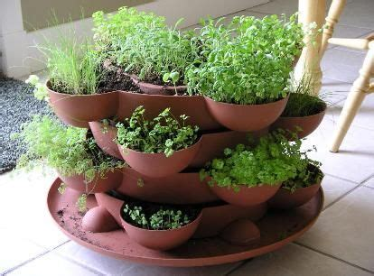 stack  grow herb planter    images indoor