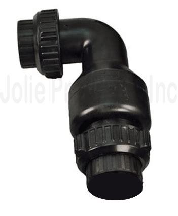aquascape design check valve aquascapepro dual union check valve 2 quot 29703