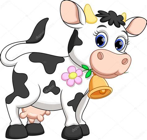 imagenes de vacas kawaii linda vaca de dibujos animados archivo im 225 genes