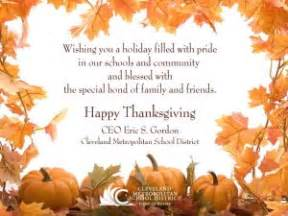 sle thanksgiving message to employees special day celebrations