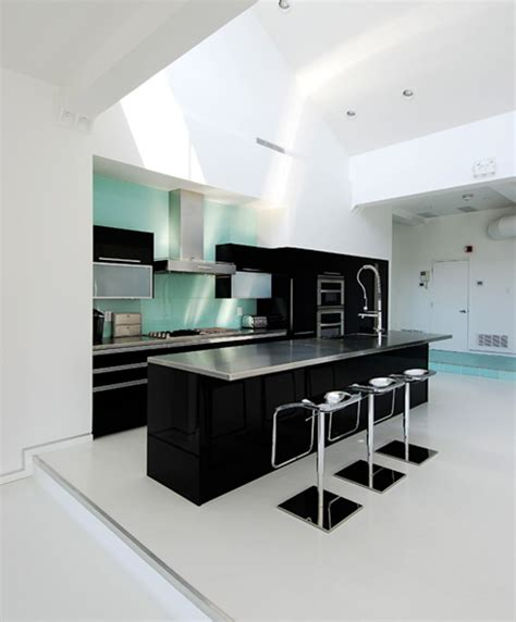 black and white kitchen design idea of black and white kitchen midcityeast