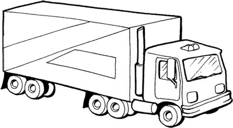 truck coloring pages for kindergarten antique truck preschool coloring pages trucks