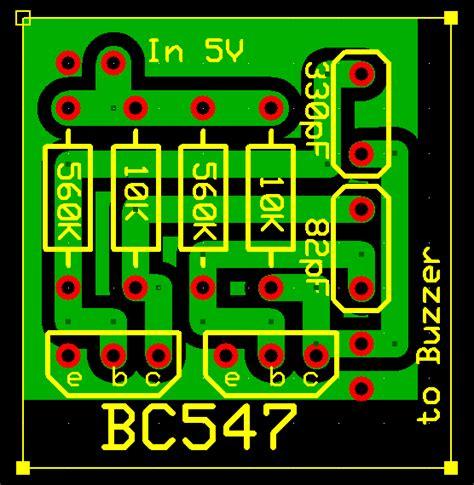 fungsi layout pcb elektronika world rangkaian alat pengusir nyamuk