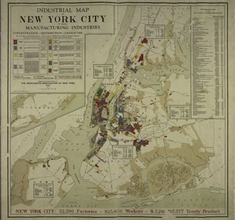 show map of new york 1919 map of new york city s manufacturers shows a bygone