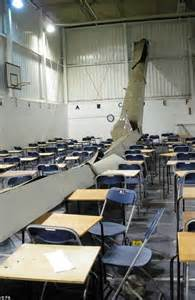 Amazing Desks revealed the first pictures inside the exam hall where a