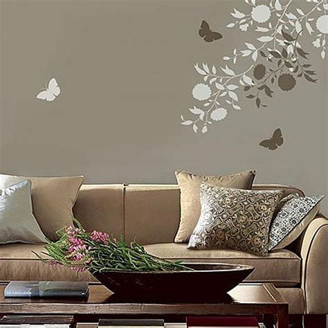floral wall stencils for bedrooms cutting edge stencils blooming branches stencil kit 2pc