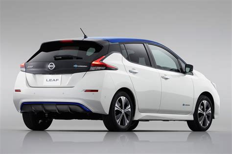 nissan leaf back new nissan leaf 2019 model with 200 mile range coming