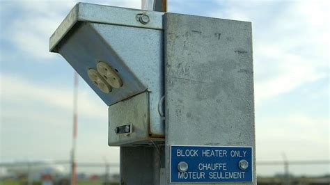 how many watts does a block heater use reference