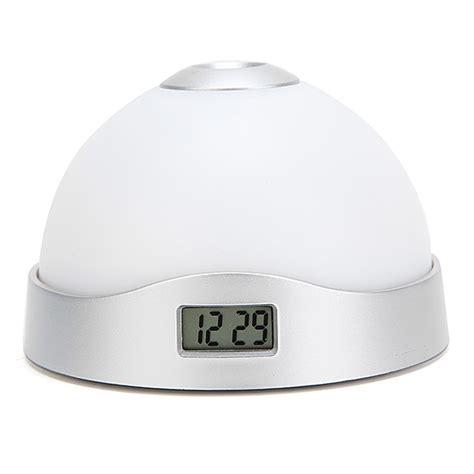 best color for alarm clock light color change alarm clock projection led clock flash