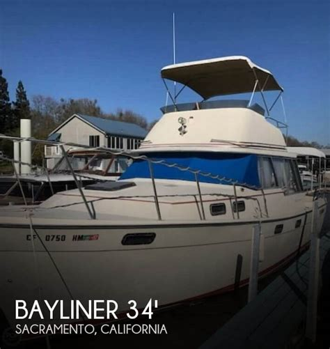 used boat for sale sacramento for sale used 1981 bayliner 34 in sacramento california