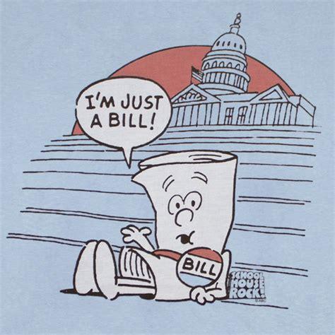 school house rock bill schoolhouse rock just a bill blue graphic tee shirt