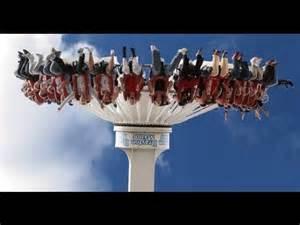 theme park videos scariest theme park rides youtube