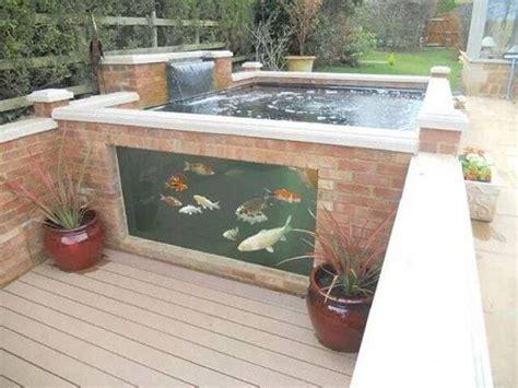 ground fish pond designs lanzhomecom