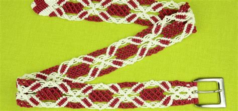 Macrame How To Make - how to make a macrame belt diy 171 knitting crochet