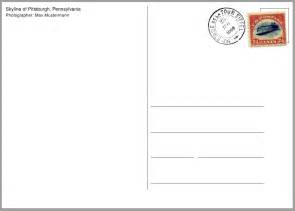how can i make a postcard template tex