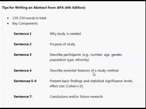 How To Make An Abstract For Research Paper - how to write an abstract of a research paper