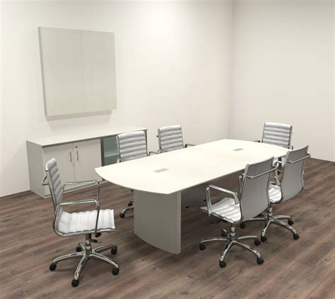 Contemporary Conference Table Modern Contemporary 8 Conference Table Mt Med C8