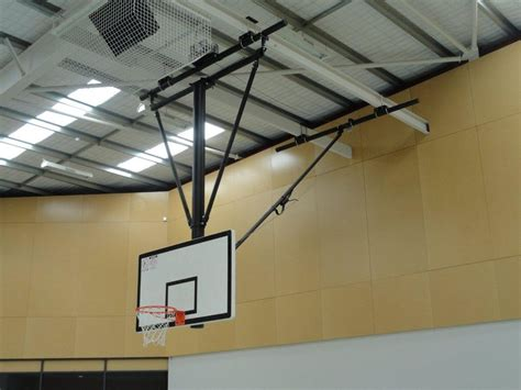 ceiling mounted basketball hoops essentials roof mounted basketball system