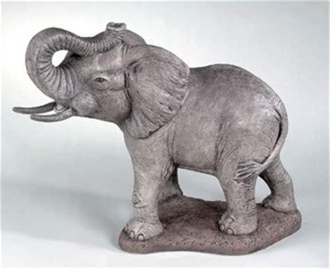 elephant cement sculpture
