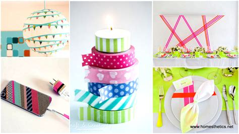 washi tape projects how to get creative with washi tape projects