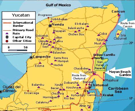mayan ruins map dzibanche vs tulum cruise critic message board forums
