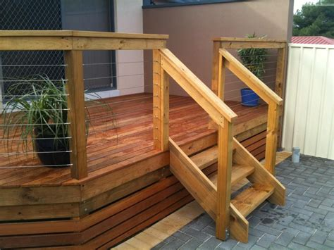 Cape Code Style House outdoor deck stairs to finish your project quinju com