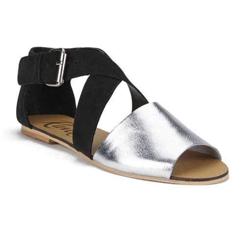 silver flat peep toe shoes ravel s dallas multi peep toe flat sandals