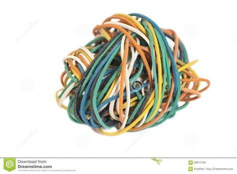 colored rubber bands colored rubber bands stock photo image 58511156
