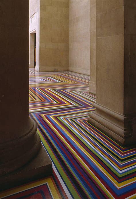 Tate Flooring by Zobop Jim Lambie Tate