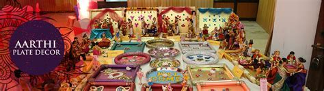 Aarthi plates decoration  Wedding aarthi plate?s designs