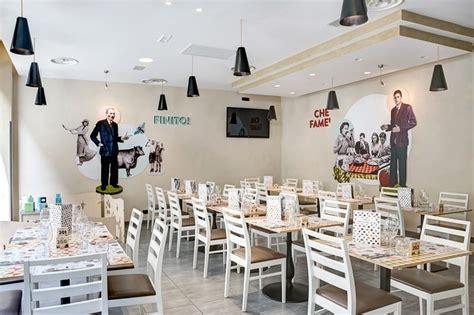 italian restaurant   warm retro interior