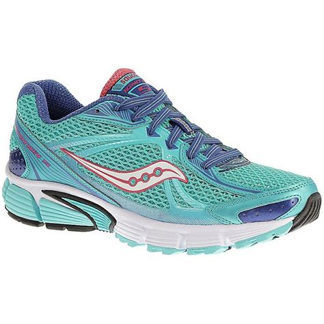 saucony womens ignition 5 running shoes blue pink