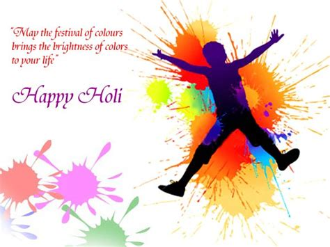 holi festival greeting cards