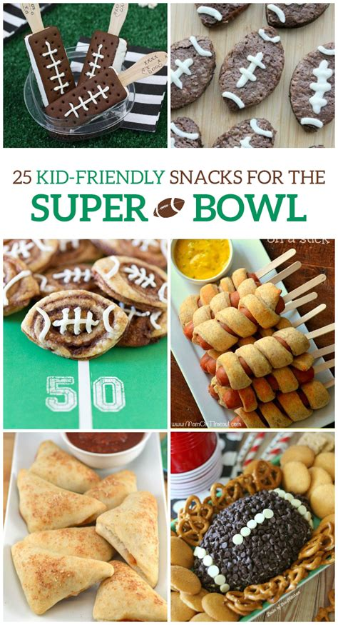 25 kid friendly super bowl snacks fullact trending stories with the laugh mixture