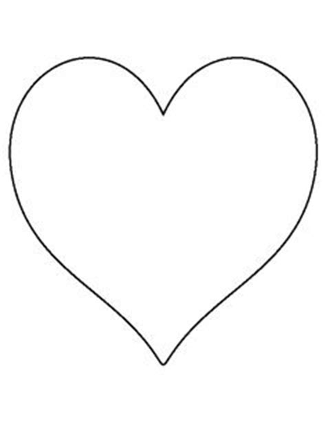 pattern m heart 8 1000 images about templates on pinterest heart template