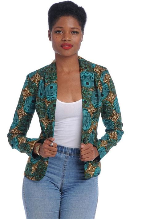 ladies jacket design m40714 ladies african print designer tops wax print