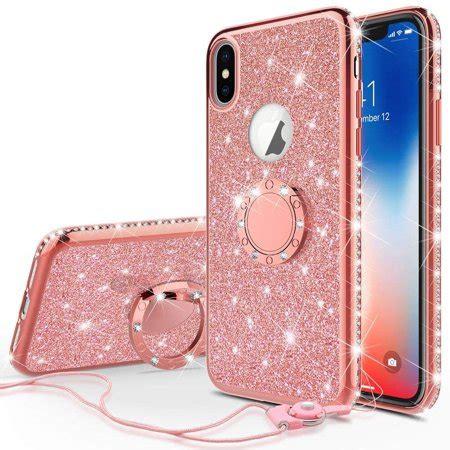 soga diamond bling glitter cute phone case  kickstand compatible  iphone xr case