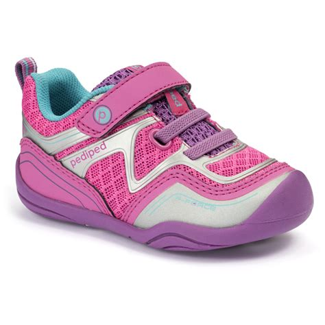 pediped shoes for grip n go pink silver pediped footwear