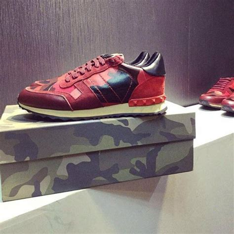 valentino sport shoes valentino fashion and s rockrunner camouflage