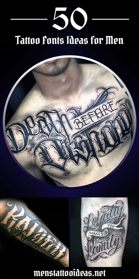 tattoo fonts male fonts ideas for ideas and designs for guys