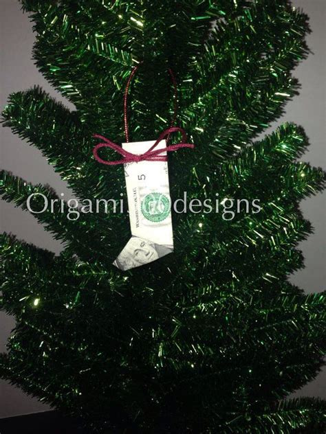 Origami Dollar Bill Tree - 1000 images about origami tree ornaments on